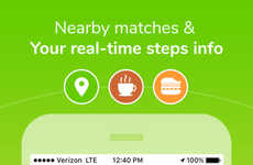 Fitness-Focused Dating Apps - The Lime Dating App Counts Steps When Making Matches
