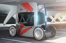 Tall Self-Driving Vehicles - The 'Nomic' Autonomous Transportation Vehicle Has an Extended Height