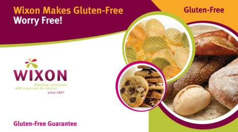 Gluten-Free Baking Mixes - Wixon Inc. Now Offers Gluten-Free Seasonings and Baking Mixes