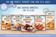 Ready-to-Bake Breakfast Bites - The Farm Rich Bakery Line Features Sweet & Savory Breakfast Foods