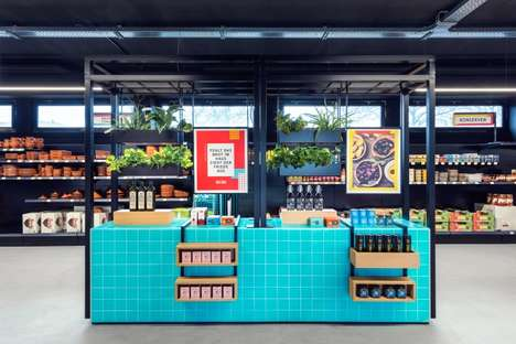 Cologne's Solera Store Boasts Highlighter-Hued Retail Displays