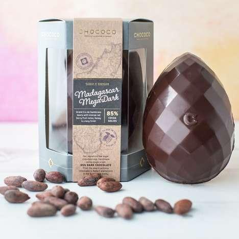 Single-Origin Chocolate Eggs