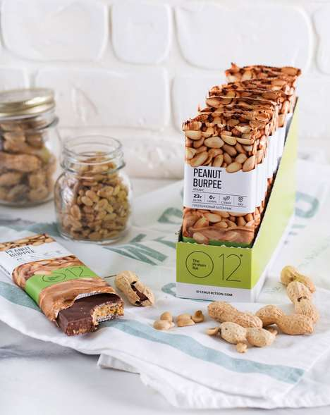 Sporty Nut Protein Bars