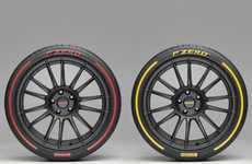 Self-Analyzing Car Tires - The Pirelli Connesso Tires Keep Track of Pressure, Balance and More