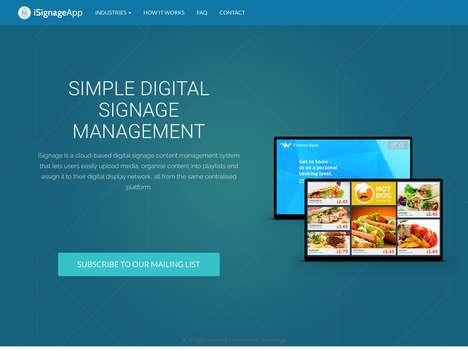Cloud-Based Digital Signage Platforms
