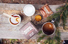 Mushroom Coffee Mixes - Four Sigmatic's Coffee Packets are Enriched with Mushroom Extracts
