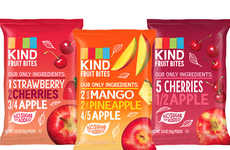 Wholesome Fruit Snacks - Kind Snacks' Fruit Bites Contain One Full Serving of Fruit Per Pouch
