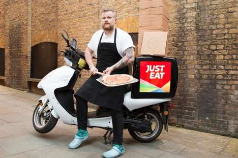 One-Cent Pizza Promotions - JustEat Offered Inexpensive Pizzas, but Only to Those Named Mary