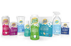 Non-Chemical Citrus Cleaners - Lemi Shine's Household Cleaners are Powered by Citrus Extracts