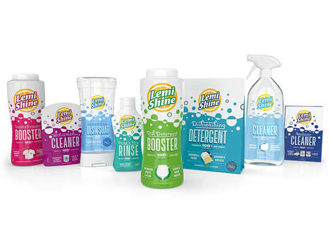 Non-Chemical Citrus Cleaners