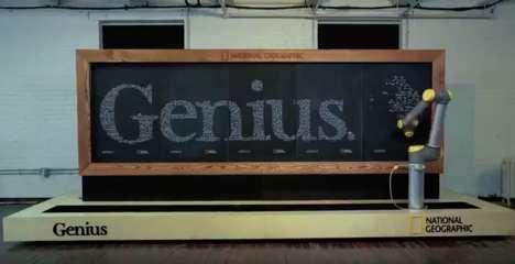 Intelligent Chalkboard Robots