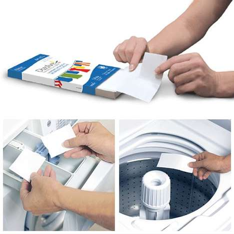 Eco-Friendly Paper Laundry Detergent
