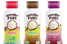 Full-Fat Coconut Drinks - Wonder Fuel's Beverages Blend Coffee and MCT Oil