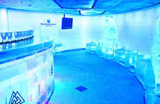 Cruise Ship Ice Bars - Norwegian Cruise Line's On-Board Pub is Sponsored by Svedka and Inniskillin
