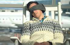 Eye Mask Travel Pillows - The 'Voyage Pillow' Travel Neck Pillows Ensure a Comfortable Trip