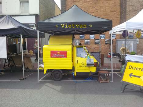 Authentic Vietnamese Cuisine Trucks - The Vietvan Offers Delicious and Healthy Street Food Options