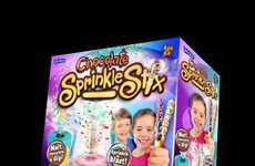 Snack-Decorating Machines - John Adams' 'Chocolate Sprinkle Stix' Makes Custom Stick Snacks