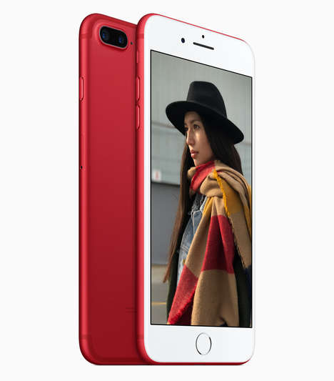 HIV-Fighting Smartphones - The iPhone 7 and 7 Plus (PRODUCT)RED Special Edition are Charitable