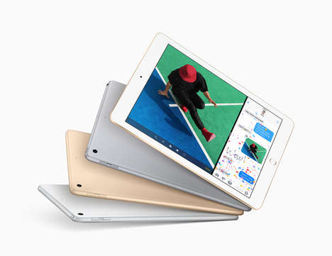 Productive Low-Cost Tablets - The New iPad from Apple Boasts Enhanced Cameras and a Lower Price