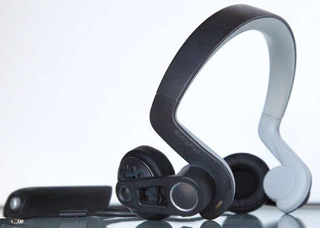 Vibrational Feedback Headphones - The 'StringPad' 4D Motion Simulator Headphones are Immersive