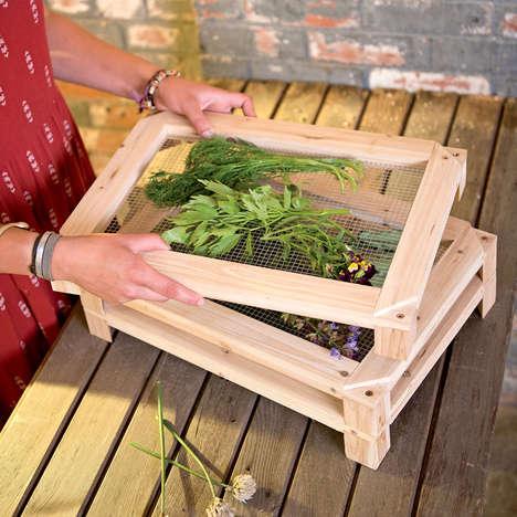 Kitchen Herb-Drying Racks