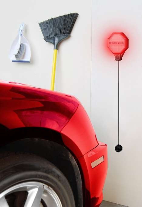 Smart Parking Sensor Lights - The STRIKER Concepts Garage Parking Sensor Keeps an Eye on Distance