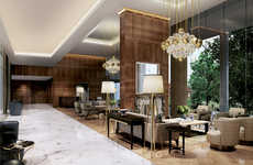 Ultra-Glamorous Retirement Homes - The Auriens Home is Designed Exclusively for Nonagenarians