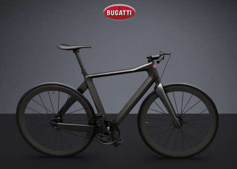 Car Brand Bicycle Designs - The PG x Bugatti Bicycle is Complementary to the Chiron