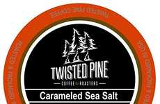 Sea Salt Coffee Pods - Twisted Pine's Savory Coffee Blend is Infused With Rich Caramel