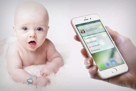 10 Infant Sleep-Tracking Innovations - From Soothing Stroller-Rocking Devices to Wearable Monitors