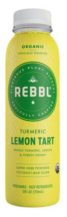Adaptogenic Lemon Drinks - REBBL's Turmeric Lemon Tart Tastes Like Pie, but is Packed with Benefits