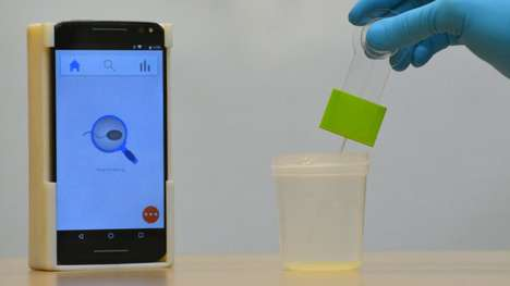 Male Smartphone Fertility Testers