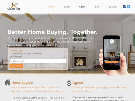 Millennial Real Estate Apps - 'Chymnee' is an App That Targets Generation Y Real Estate Buying