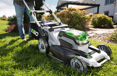 Lithium-Powered Lawn Mowers