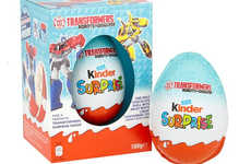 Oversized Toy-Filled Chocolate Eggs - Chocolate Lovers May Now Purchase Giant Kinder Surprise Eggs
