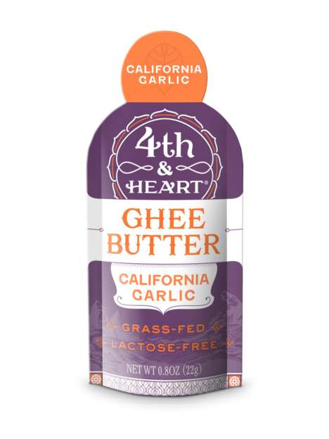 Single-Serve Ghee Packets - Fourth & Heart Focuses on Out-of-Home Use for Its Butter Alternative