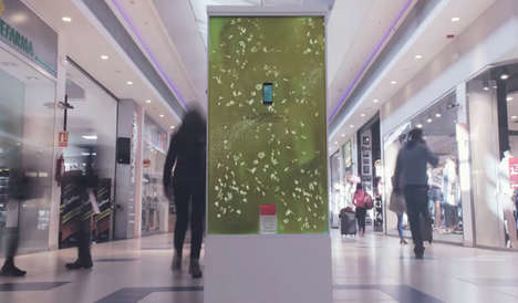 Germy Petri Posters - This Soap Ad Campaign Features Enormous Petri Dishes Full of Live Bacteria