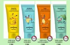 Anime-Themed Cosmetic Products - The Tony Moly x Pokemon Collection Features Themed Creams