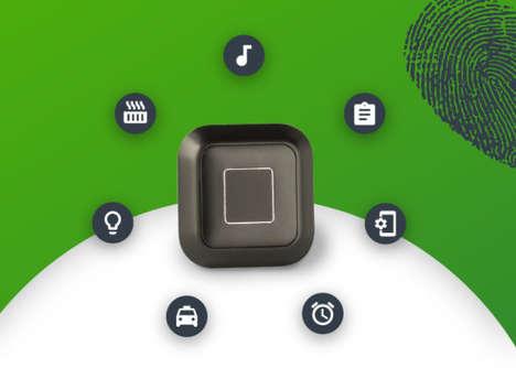 Fingerprint-Scanning Smart Buttons