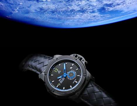 Science Fiction Timepieces - The 'SD-09' Spacecraft Watch is Inspired by Outer Space