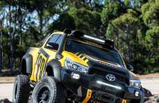 Real-Life Toy Pickups - The Toyota Hilux Tonka Truck Celebrates the Brand's Australian Sales Success