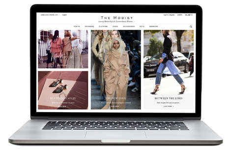Modest Luxury E-Retailers
