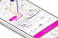App-Connected Shuttle Services - Lyft Shuttle is a Rideshare Service with Fixed Routes and Buses