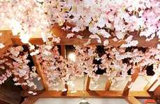 Springtime Sakura Parties - Japan's Kirin Brewery Offers Indoor Cherry Blossom-Viewing Events
