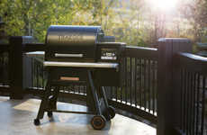 Connected Outdoor Grills - The Traeger Timberline Grill has Proprietary WiFire Technology