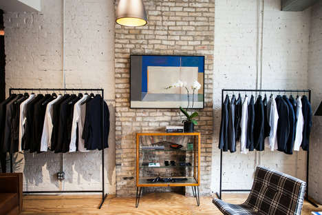 In-Store Tuxedo Showrooms
