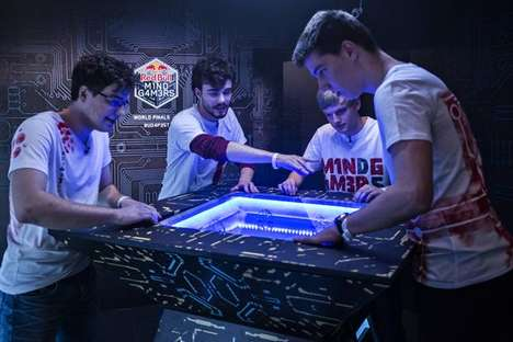 Energetic Escape Challenges - The Red Bull Mind Gamers Partook in the Escape Room World Championship