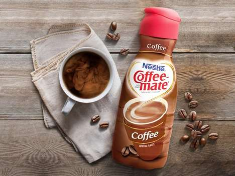 Coffee-Flavored Creamers - The Newest COFFEE-MATE Creamer Boasts a Rich Coffee Flavor