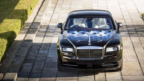 Legendary Rocker Luxury Cars - The Rolls-Royce Inspired by Music Collection Honors British Musicians