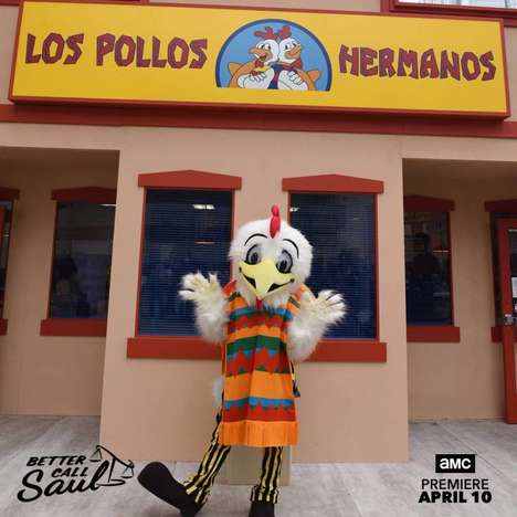 Real-Life TV Chicken Shops - A Los Pollos Hermanos Pop-up is Heading to L.A. and New York